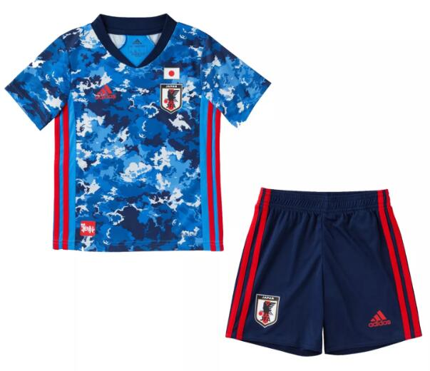 Japan Kids Soccer Suits 2020 Home Football Kits