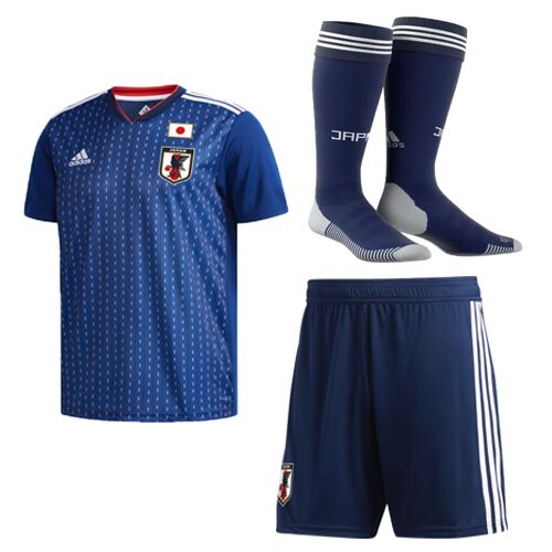 Japan Soccer Jerseys 2018 World Cup Home Football Kits (Shirt+Shorts+Socks)