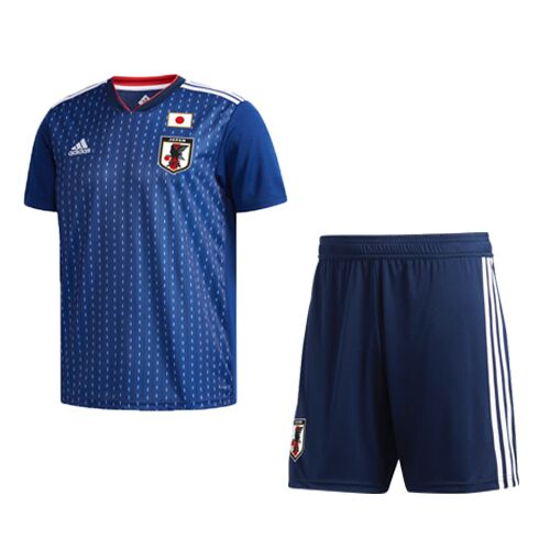 Japan Soccer Jerseys 2018 World Cup Home Football Kits (Shirt+Shorts)