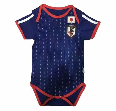 Baby Kids Japan 2018 World Cup Home Soccer Jersey Shirt