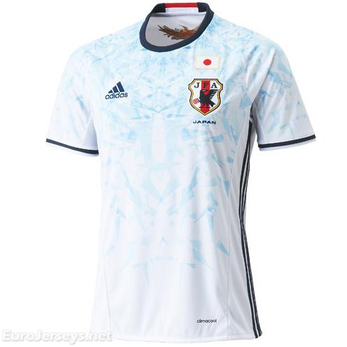 Japan 2016-17 Away Shirt Soccer Jersey