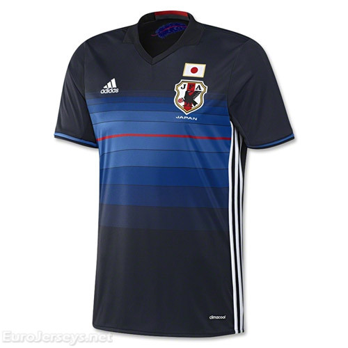 Japan 2016-17 Home Shirt Soccer Jersey