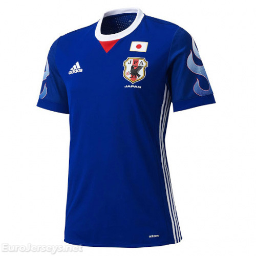 Japan 2017-18 Home Shirt Soccer Jersey