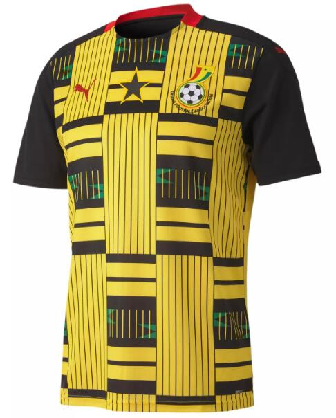Ghana Soccer Jerseys 2020 Away Football Shirts