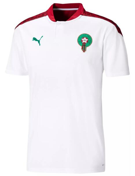 Morocco Soccer Jerseys 2020 Away Football Shirts