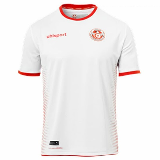 Tunisia Soccer Jerseys 2018 World Cup Home Football Shirts
