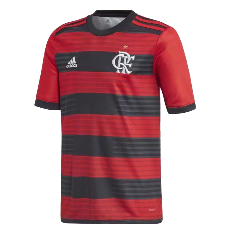 CR Flamengo Soccer Jerseys 2018-19 Home Football Shirts