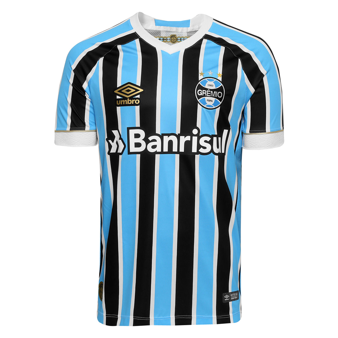 Grêmio FBPA Soccer Jersey 2018-19 Home Football Shirt