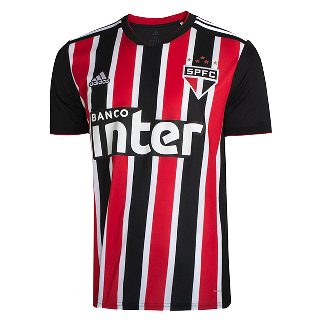 Sao Paulo FC Soccer Jerseys 2018-19 Away Football Shirts