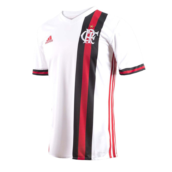 Flamengo 2017-18 Away Shirt Soccer Jersey