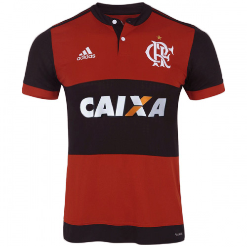 CR Flamengo 2017-18 Home Shirt Soccer Jersey