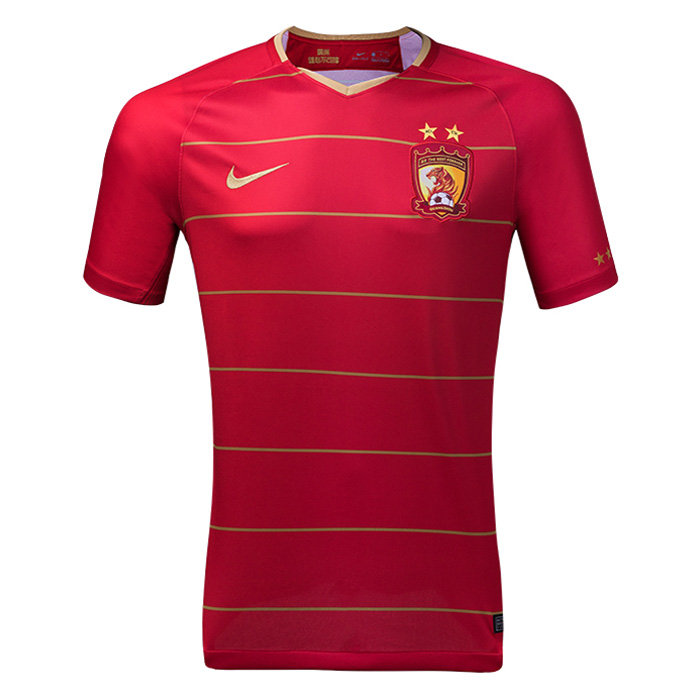 Guangzhou Evergrande Soccer Jerseys 2018-19 Home Football Shirts