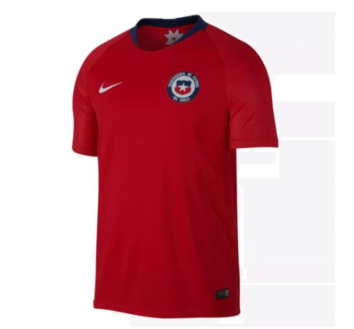 Chile Soccer Jerseys 2018 World Cup Home Football Shirts