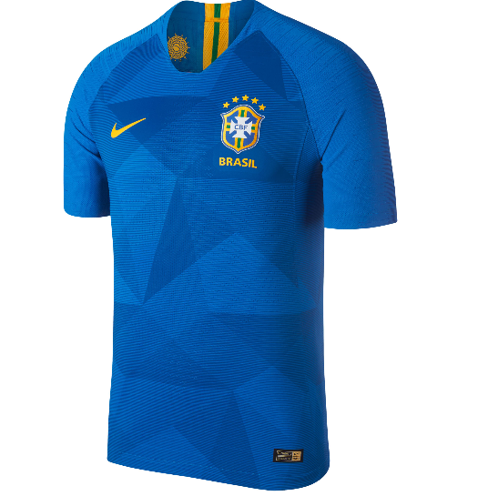 Brazil 2018 World Cup Away Shirt Soccer Jersey - Match