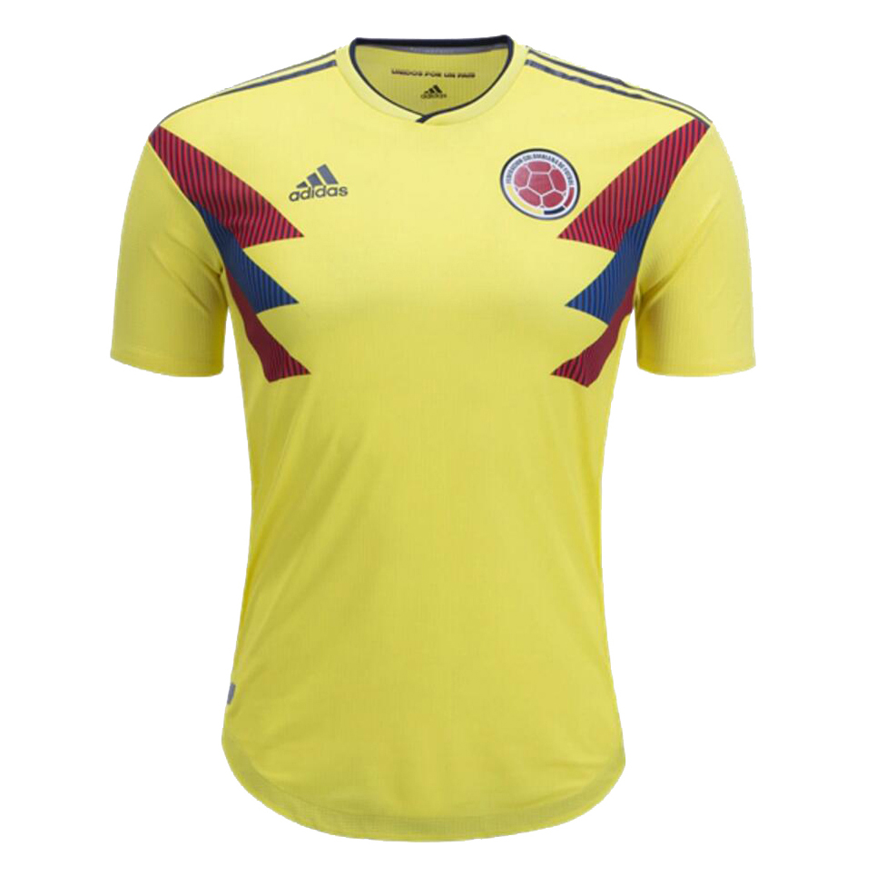 Player Version Colombia 2018 World Cup Home Shirt Soccer Jersey