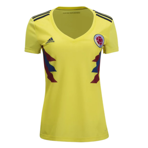 Colombia 2018 World Cup Home Women's Shirt Soccer Jersey
