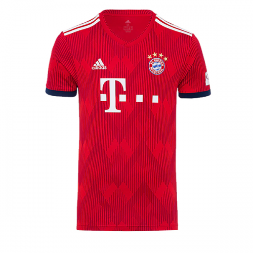 Bayern Munich Soccer Jerseys 2018-19 Home Football Shirts