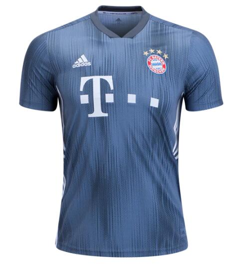 Bayern Munich Soccer Jerseys 2018-19 Third Football Shirts