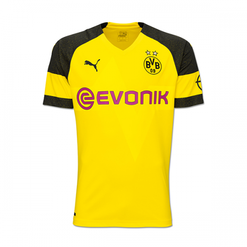 Borussia Dortmund Soccer Jerseys 2018-19 Home Football Shirts