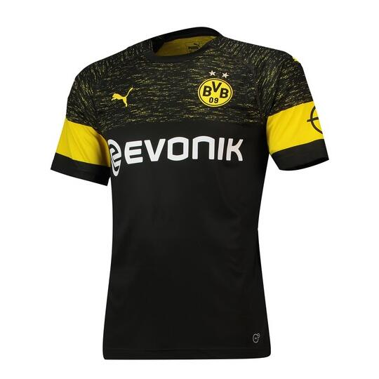 Borussia Dortmund Soccer Jerseys 2018-19 Away Football Shirts