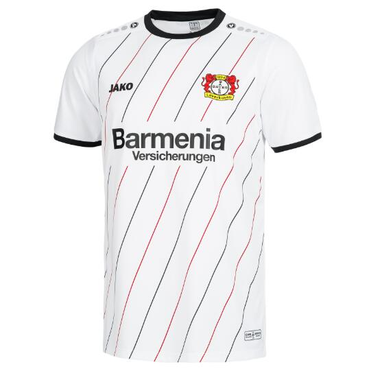 Bayer 04 Leverkusen Soccer Jerseys 2018-19 Away Football Shirts