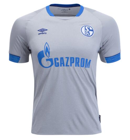 FC Schalke 04 Soccer Jerseys 2018/19 Away Football Shirts