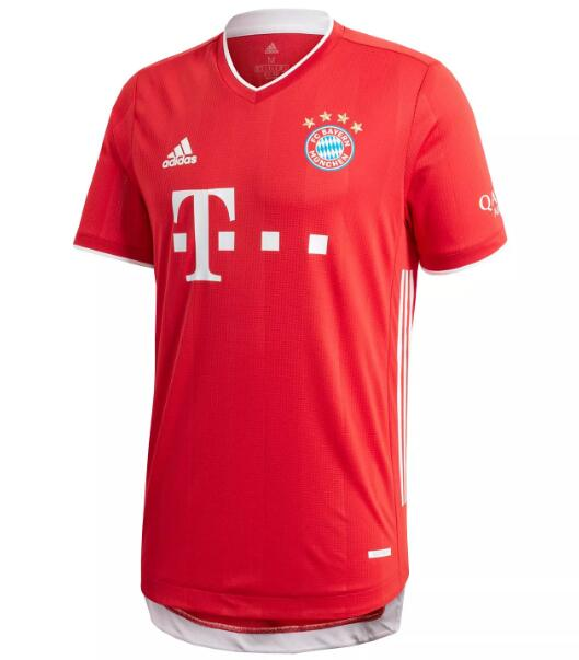 Bayern Munich Player Version Soccer Jerseys 2020-21 Home Football Shirts