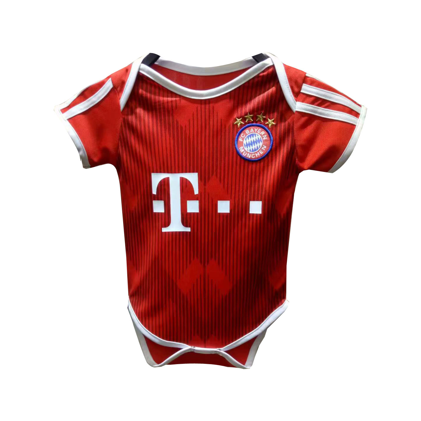 Bayern Munich Baby Soccer Jersey Suit 2018-19 Home Infant Football Shirts