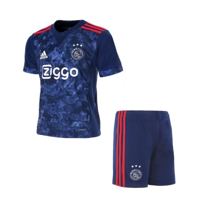 Ajax Kids Soccer Jersey 2017-18 Away Football Kit Children Shirt And Shorts