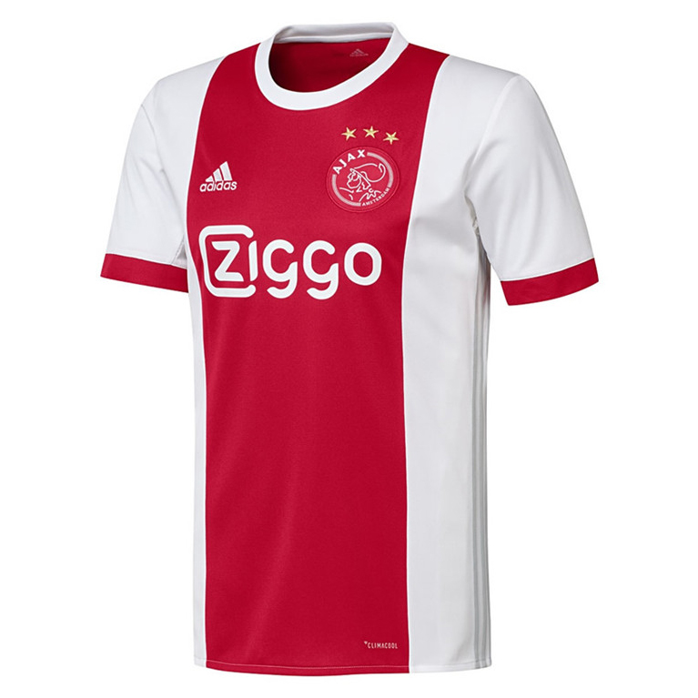 Ajax Soccer Jersey 2017-18 Home Football Shirt - Match