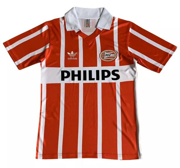PSV Eindhoven Retro Soccer Jerseys 1990 Home Football Shirts