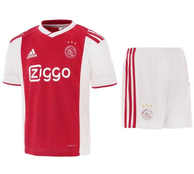 Kids Ajax Soccer Jerseys 2018-19 Home Football Kits (Shirt + Shorts)