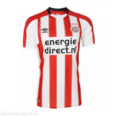 PSV Eindhoven 2017-18 Home Shirt Soccer Jersey
