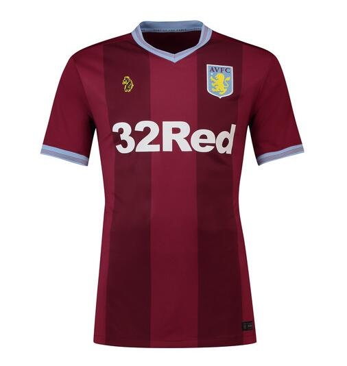 Aston Villa Soccer Jerseys 2018-19 Home Football Shirts