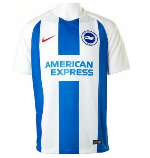 Brighton & Hove Albion Soccer Jerseys 2018-19 Home Football Shirts