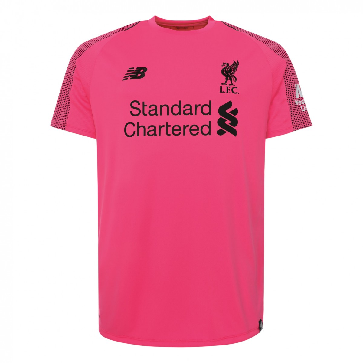 Liverpool Goalkeeper Soccer Jerseys 2018-19 Pink Football Shirts