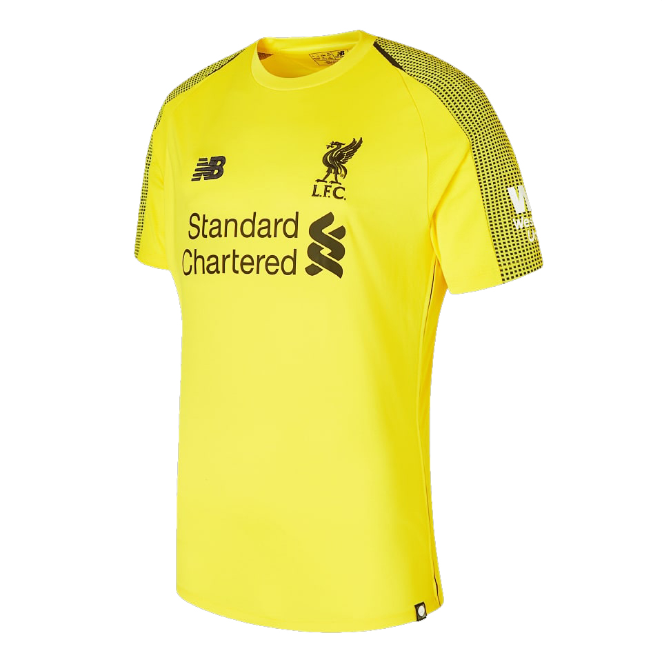 Liverpool Goalkeeper Soccer Jerseys 2018-19 Yellow Football Shirts