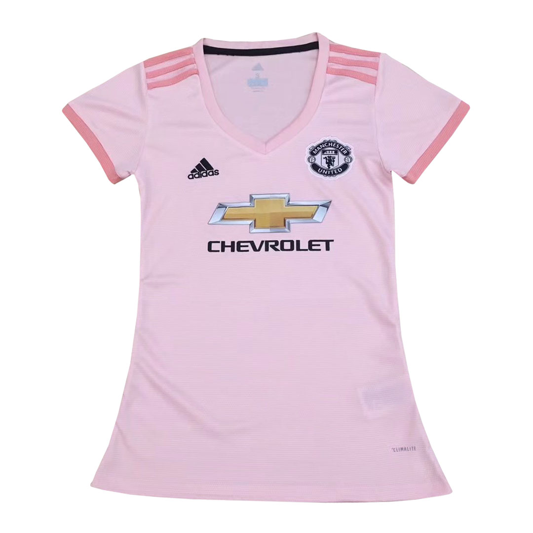 Manchester United Women Soccer Jerseys 2018-19 Away Football Shirts