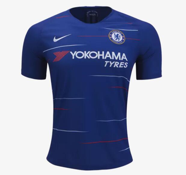 Chelsea Soccer Jerseys 2018-19 Home Football Shirts