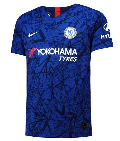 Chelsea Soccer Jerseys 2019-20 Home Football Shirts Authentic