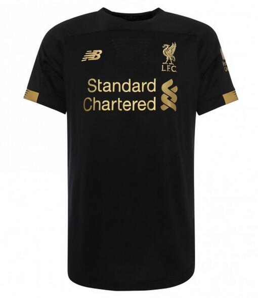 Liverpool Soccer Jerseys 2019-20 Goalkeeper Black Football Shirts