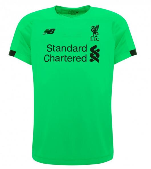 Liverpool Soccer Jerseys 2019-20 Goalkeeper Green Football Shirts