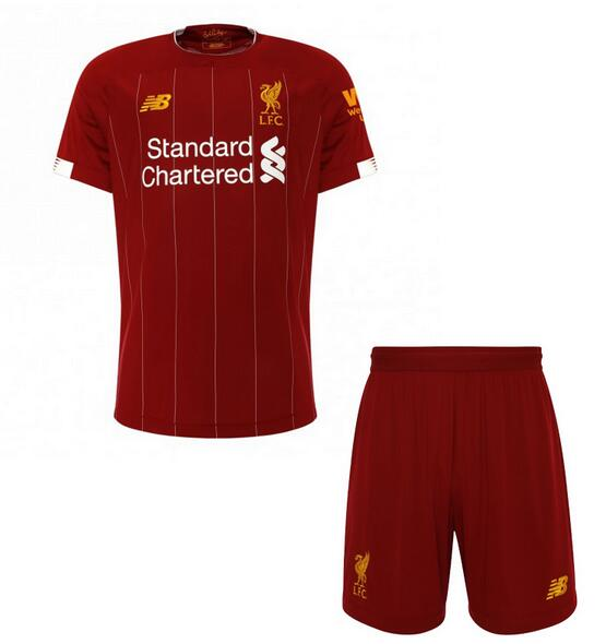 Liverpool Kids Soccer Jerseys 2019-20 Home Football Kits