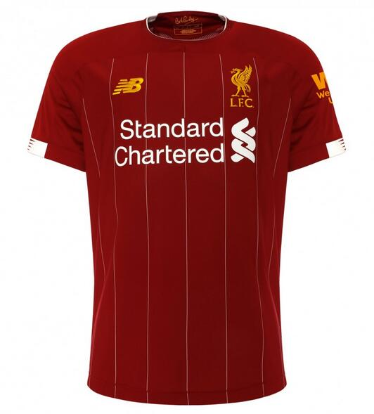 Liverpool Soccer Jerseys 2019-20 Home Football Shirts