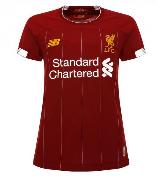 Liverpool Women Soccer Jerseys 2019-20 Home Football Shirts