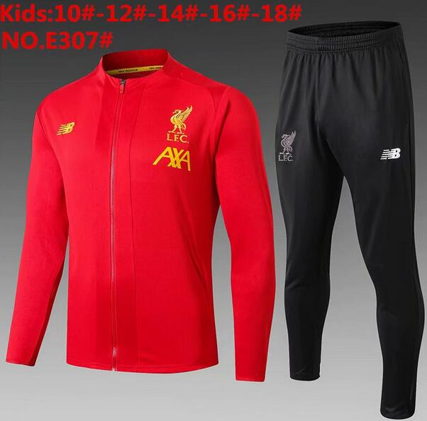Liverpool Kids Tracksuit 2019-20 Red Jacket Top + Pants
