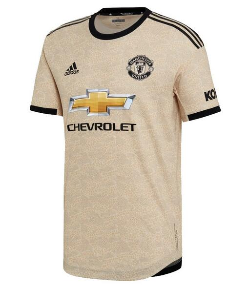 Manchester United Football Shirts 2019-20 Away Soccer Jerseys Authentic