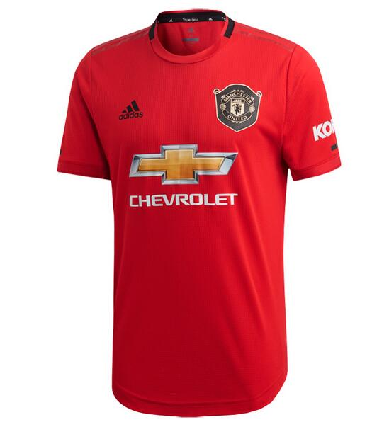 Manchester United Football Shirts 2019-20 Home Soccer Jerseys Authentic
