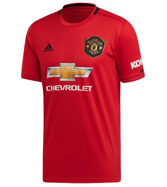 Manchester United Football Shirts 2019-20 Home Soccer Jerseys