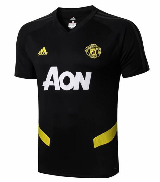 Manchester United Training Jersey Shirts 2019-20 Black